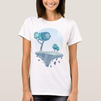 T-shirt Territoire de turquoise