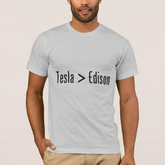 T-shirt Tesla > Edison