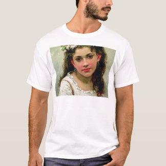 T-shirt Tête de la fille