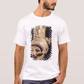 T-shirt Tête d'un guerrier portant un casque