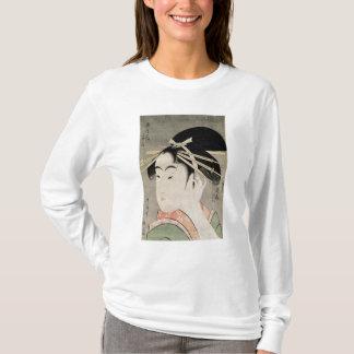 T-shirt Tête d'une femme