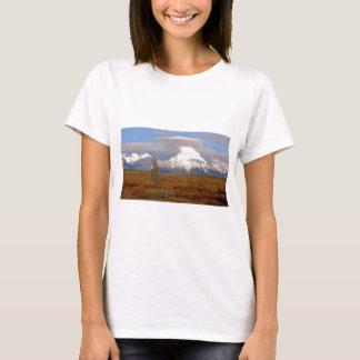 T-shirt Tetons grand en automne