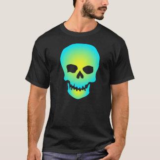 T-shirt texte électrique de /DIY de crâne