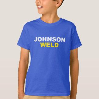 T-shirt Texte léger de Johnson-Soudure