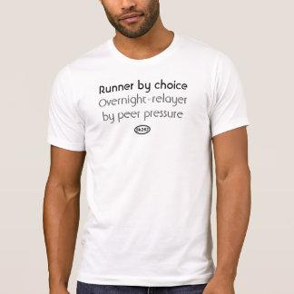 T-shirt Texte noir : Pression de pair (relais durant la