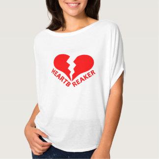T-shirt Texte non Editable du coeur brisé de bourreau des