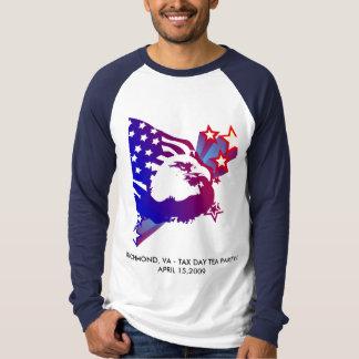 T-shirt Thé de jour d'impôts - Richmond-VA_#2