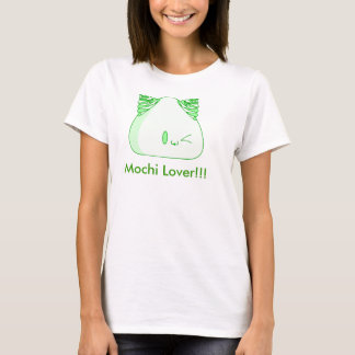 T-shirt Thé vert de Mochi, amant de Mochi ! ! !