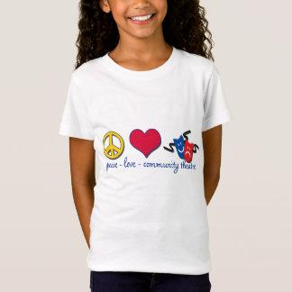 T-Shirt Théâtre de la Communauté d'amour de paix