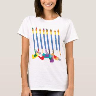 T-shirt Thème d'artiste de pinceaux et de tubes