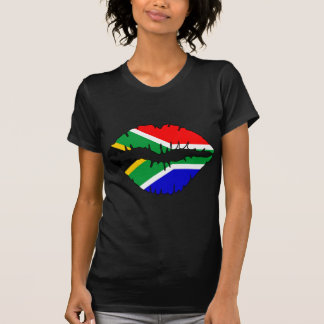 T-shirt Thème sud-africain de baiser