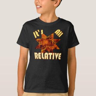 T-shirt Théorie de la science de geek d'enfants d'Einstein