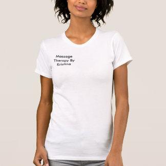 T-shirt Thérapie de massage par Kristina