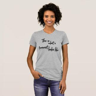 T-shirt This i what à feminist looks like