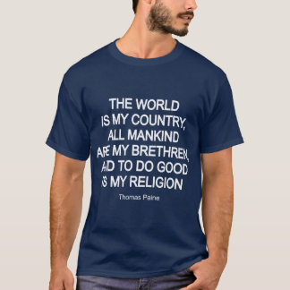 T-shirt Thomas Paine