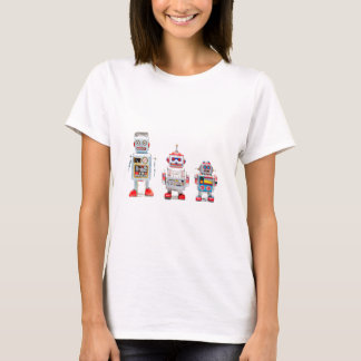 T-shirt Three Robots