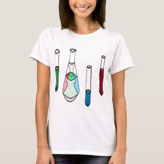 T-shirt TIGE de solutions de tubes à essai de bechers de