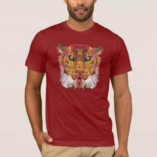 T-shirt Tigre coloré