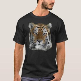 T-shirt Tigre de patchwork