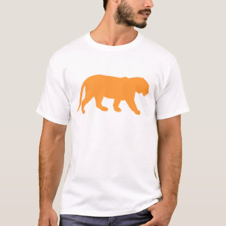 T-shirt Tigre orange