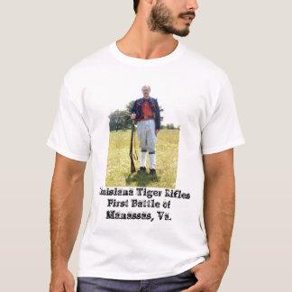 T-shirt Tigre RiflesFirst Battl de la Louisiane…