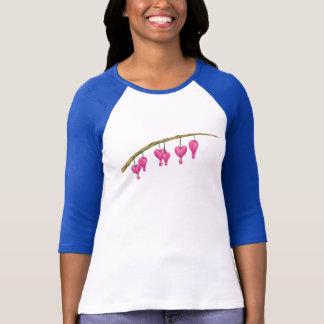 T-shirt Tintement de tintement peu de chemise de la fleur