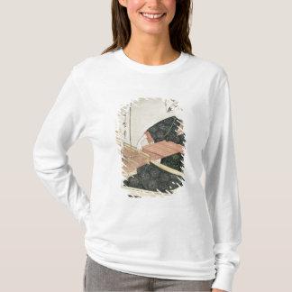 T-shirt Tissage de femme