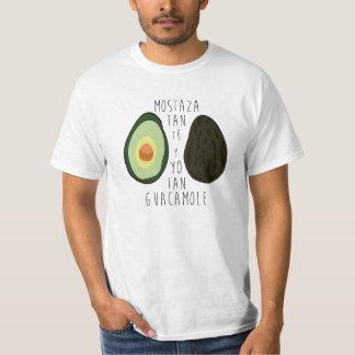 T-shirt Toi tellement Moutarde et je tellement Guacamole