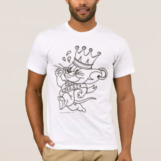 T-shirt Tom et le Roi Jerry de Jerry