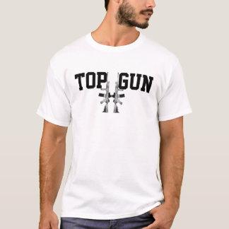 T-shirt TOP GUN ; Neige Camo AR-15