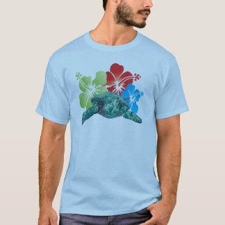 T-shirt Tortue de ketmie d'Hawaï