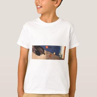 T-shirt Tortue et crabe par Utagawa Kuniyoshi