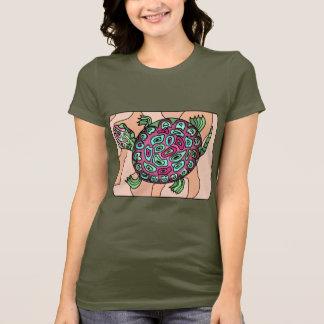 T-shirt Tortue peinte