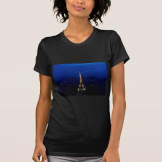 T-shirt Tour de Paris Eifel la nuit