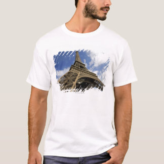 T-shirt Tour Eiffel d'angle faible