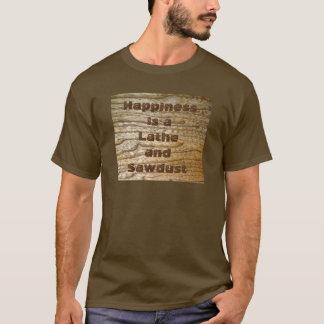 T-shirt Tour et sciure de bonheur
