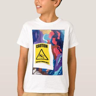 T-shirt Tourbillon glissant si humide