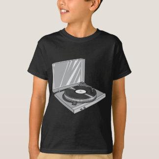 T-shirt Tourne-disque rétros 2 vintages de phonographe