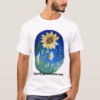 T-shirt Tournesol par Sara