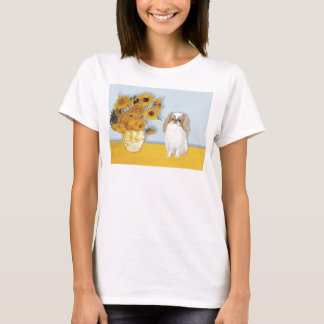 T-shirt Tournesols - Japonais Chin (L1)