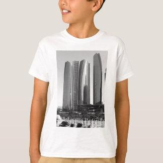 T-shirt Tours de B&W Etihad