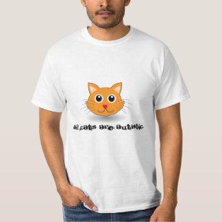 T-shirt Tous les chats sont autistes