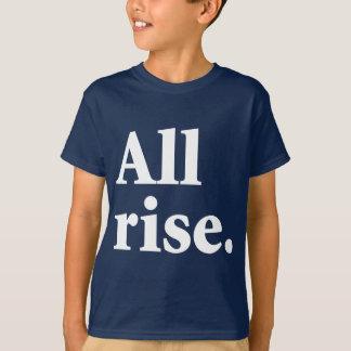 T-shirt Tous les hausse/vous peut être assise