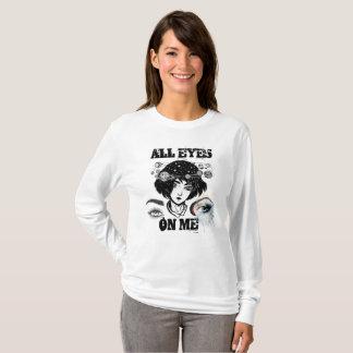 T-shirt Tous les yeux sur moi