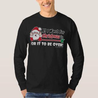 T-shirt Tous que je veux pour la conception drôle de Noël