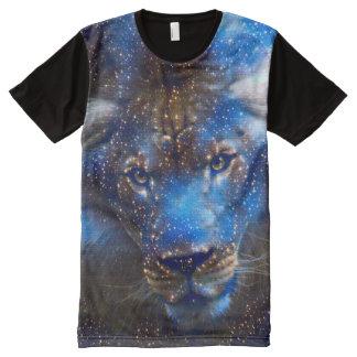 T-shirt Tout Imprimé Art d'aerographe d'imaginaire d'esprit de zodiaque