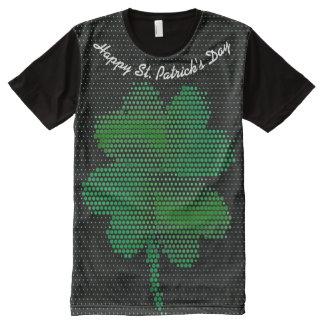 T-shirt Tout Imprimé Chemise du jour de St Patrick partout