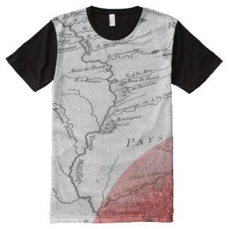 T-shirt Tout Imprimé Chemise puissante de MIffiffippi