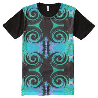 T-shirt Tout Imprimé Couleurs de tourbillonnement 03,2