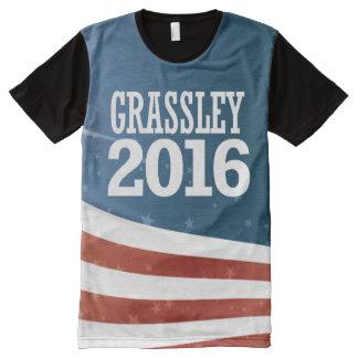 T-shirt Tout Imprimé Grassley - mandrin Grassley 2016
